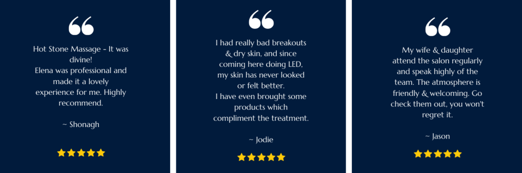 What our clients say about us.